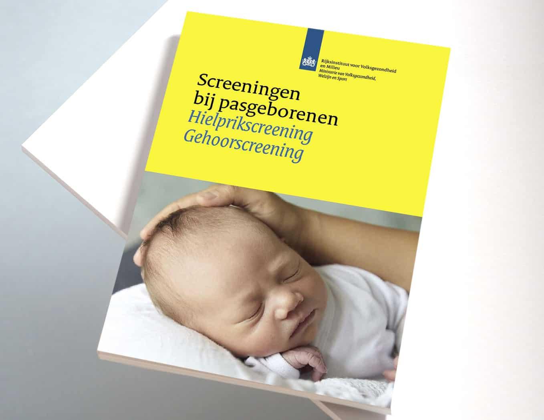 kaft folder-screeningen-bij-pasgeborenen